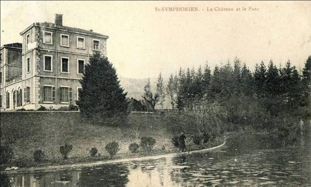829 001 st symphorien chom le chateau et le parc