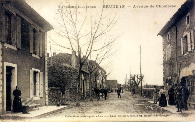 Brune avenue de chomerac