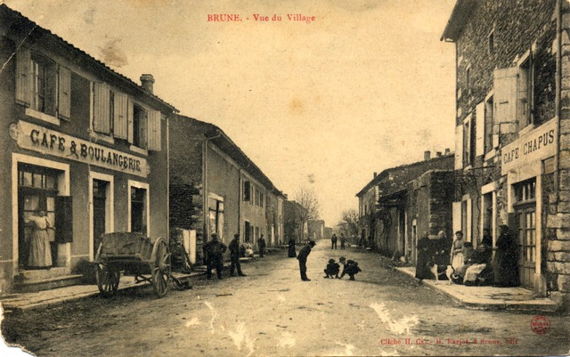 Brune vue du village 1