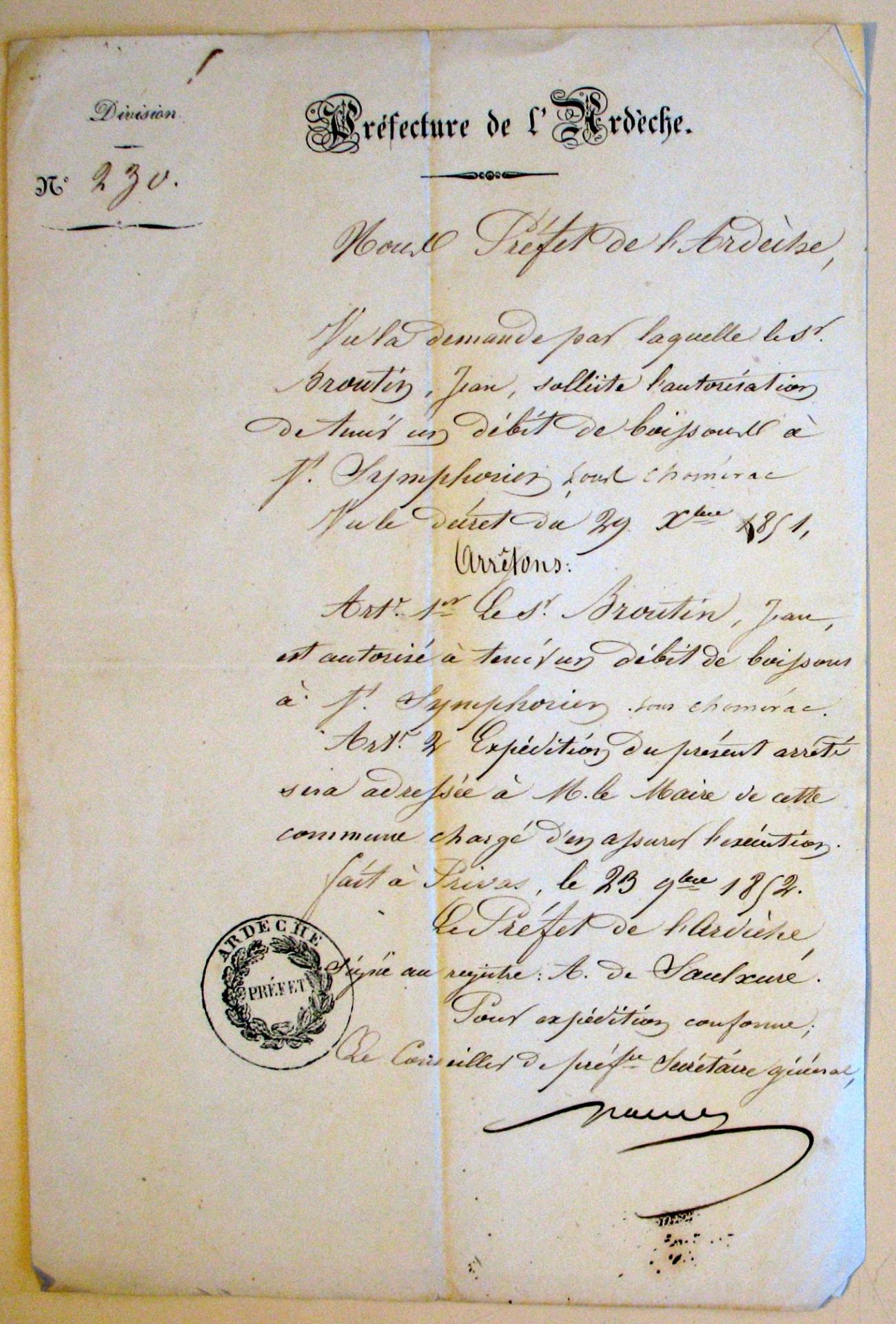 Debitboissonbroutin jean23 09 1852